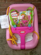 LITTLE TIKES 2-in-1 SNUG 'n SECURE SWING - PINK--STILL AVAILABLE in Warner Robins, Georgia