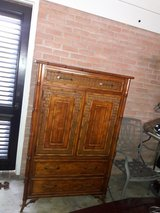 Fruitwood armoire in Fort Benning, Georgia