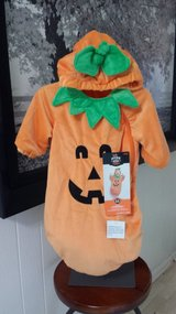 New with Tags!  Pumpkin Costume 0-6 mos (2 available) in Glendale Heights, Illinois