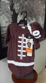 New with Tags!  Football Costume 0-6 mos (2 available) in Westmont, Illinois