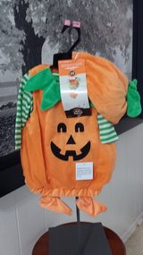 New with Tags!  Pumpkin Costume (2 available in 2 sizes) in Naperville, Illinois