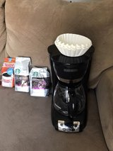 coffee make with un open coffee and filters in Nellis AFB, Nevada
