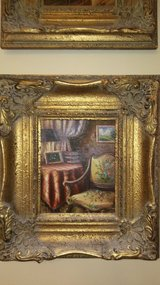 Authentic Oil Painting: Parlor in Warner Robins, Georgia