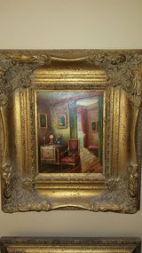 Authentic Oil Painting: Parlor Scene in Warner Robins, Georgia
