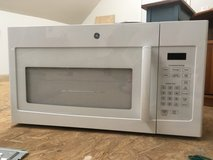 GE 1.6 cu ft Over-the-Range Microwave in Camp Lejeune, North Carolina