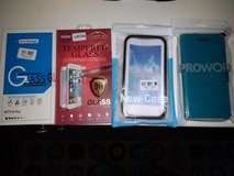 Moto g4 play screen protector, case, and wallet in Camp Pendleton, California
