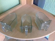 Kitchen Cupboard Small Glass Spice Drawers - schuette - set of 3 E in Ramstein, Germany