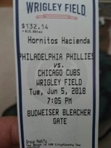Chicago Cubs Tickets -2 Total in Yorkville, Illinois