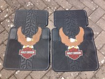 Harley Davidson with Eagle Auto Floor Mats - set of 2 in Ramstein, Germany
