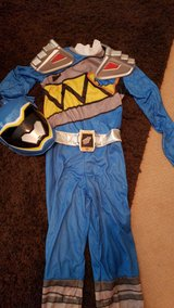 Blue Dino Ranger dress up in Kingwood, Texas