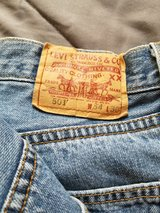 Levi's 501 jeans in Camp Pendleton, California