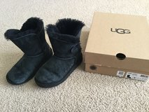 Ugg Girls Bailey Button Boots...size 1 in Naperville, Illinois