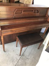 Upright Piano in Oswego, Illinois