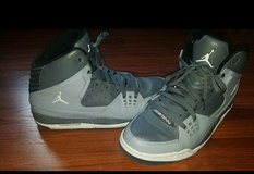 Jordan's 10.5 men's Grey/white in Camp Pendleton, California
