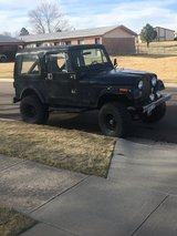 1983 Jeep CJ 7 in Colorado Springs, Colorado