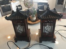 Korean traditional house lamps in San Antonio, Texas