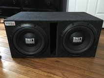 Two 12's speakers with 2,500 watt amp in Perry, Georgia