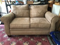 broyhill tan loveseat in Wilmington, North Carolina