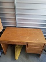 solid wood desk in Camp Pendleton, California