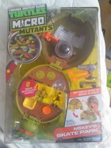 nip ninja turtles micro playset in Camp Lejeune, North Carolina