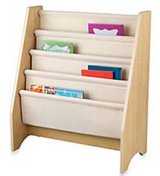 Sling book shelf in Fort Campbell, Kentucky
