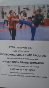 Kickboxing fitness in Travis AFB, California