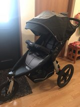 Graco's Relay Click Connect Jogging Stroller w/ extras in Okinawa, Japan
