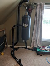 punching bag and stand in Byron, Georgia