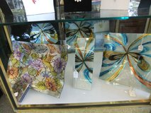 Huge Selection Cozenza Hand Painted Art Glass @ Samantha's West Side Market in Cherry Point, North Carolina