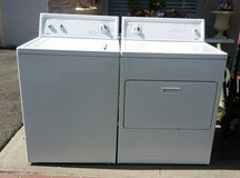 Kenmore washer and gas dryer set in Camp Pendleton, California