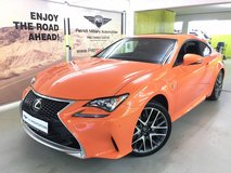 2015 Lexus RC 350 in Vicenza, Italy