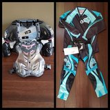Girls Chest protector, shirt & pants in Plainfield, Illinois