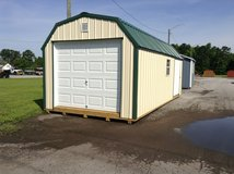 12x24 Amish Metal garage in Camp Lejeune, North Carolina