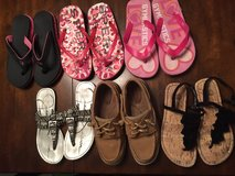 Girls sz 13 shoe lot in Leesville, Louisiana