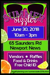 Summer Sizzler Vendor Fair in Hampton, Virginia
