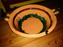 Terracotta Bowl with handles in The Woodlands, Texas