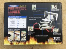 Werner heavy duty 2 or 3 story fire escape ladder NIB in Leesville, Louisiana