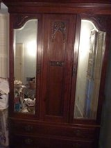 Antique Armoire 1930's -Shelves inside in Los Angeles, California