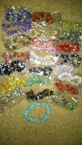 CLEARING OUT... ROCK BRACELETS (STRETCHY) in Clarksville, Tennessee