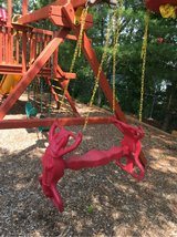 Playstar Horse Swing Teeter Totter Playground Excellent! in Joliet, Illinois