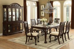 """BRAND NEW! LUXURIOUS ~ DESIGNER """"MOORLE"""" COLLECTION ~WELL BUILT LARGE DINING SET in Camp Pendleton, California"""