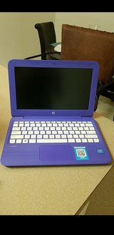 Purple hp laptop in Fort Bliss, Texas