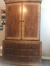Beautiful Cherry Wood Armoire PRICE REDUCED in The Woodlands, Texas