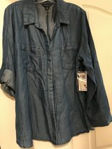 Women's Soft Jean Blouse in Vacaville, California