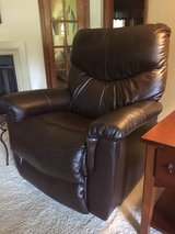 Brown Leather Recliner in Byron, Georgia