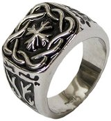 MENS CROSS RING- SIZE 10 in Pearland, Texas