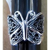 Marcasite butterfly ring- size 10 in Pearland, Texas