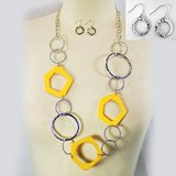 YELLOW / SILVER SET- NEW in Pearland, Texas