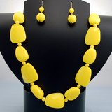 YELLOW BEAD SET- NEW in Bellaire, Texas