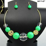 GREEN CHOKER SET-NEW in Pearland, Texas